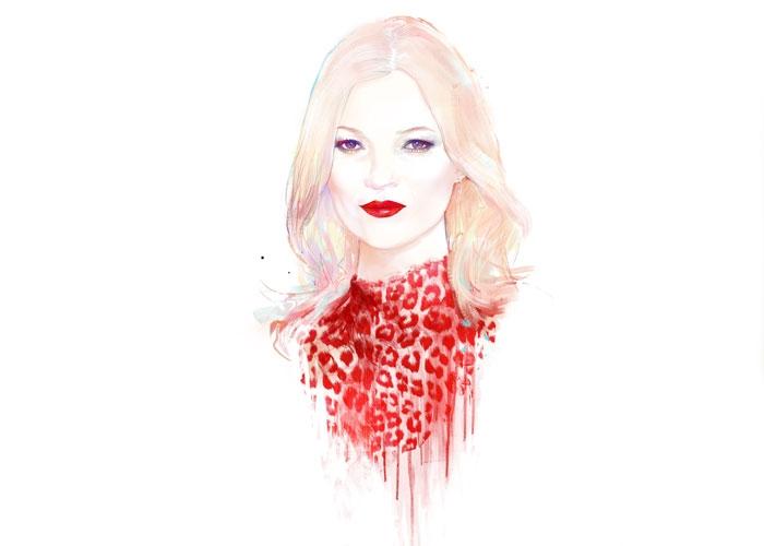 Kate Moss at 40