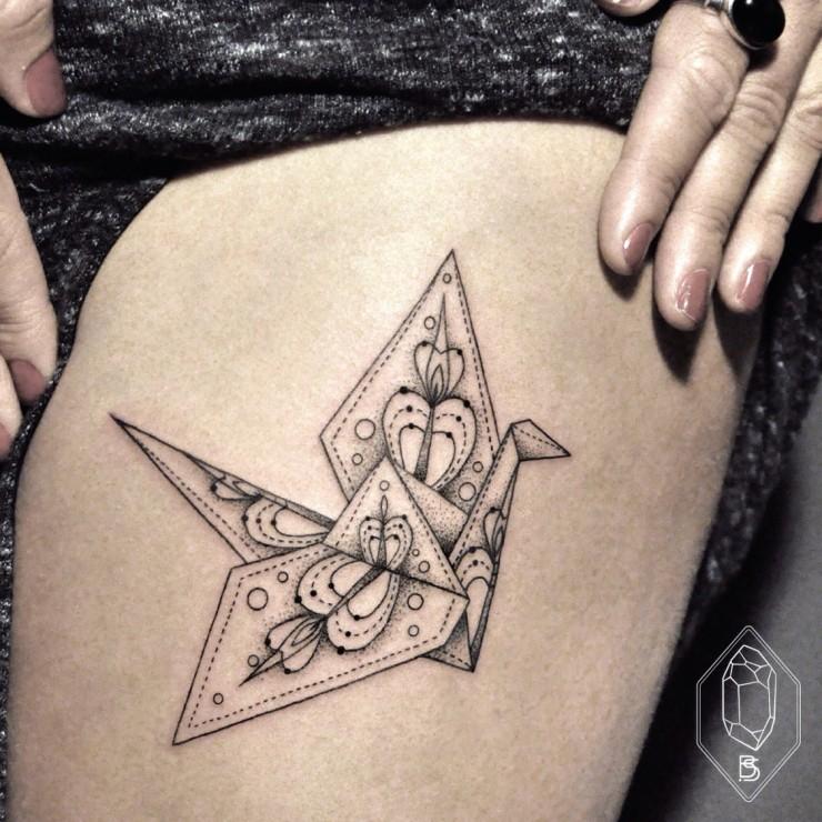 Stunning Thin-Lined Tattoos