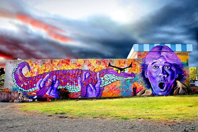 MADSTEEZ Paints the Streets of Australia
