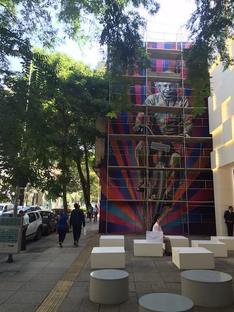New Sao Paolo Mural by Street Artist Edoardo Kobra