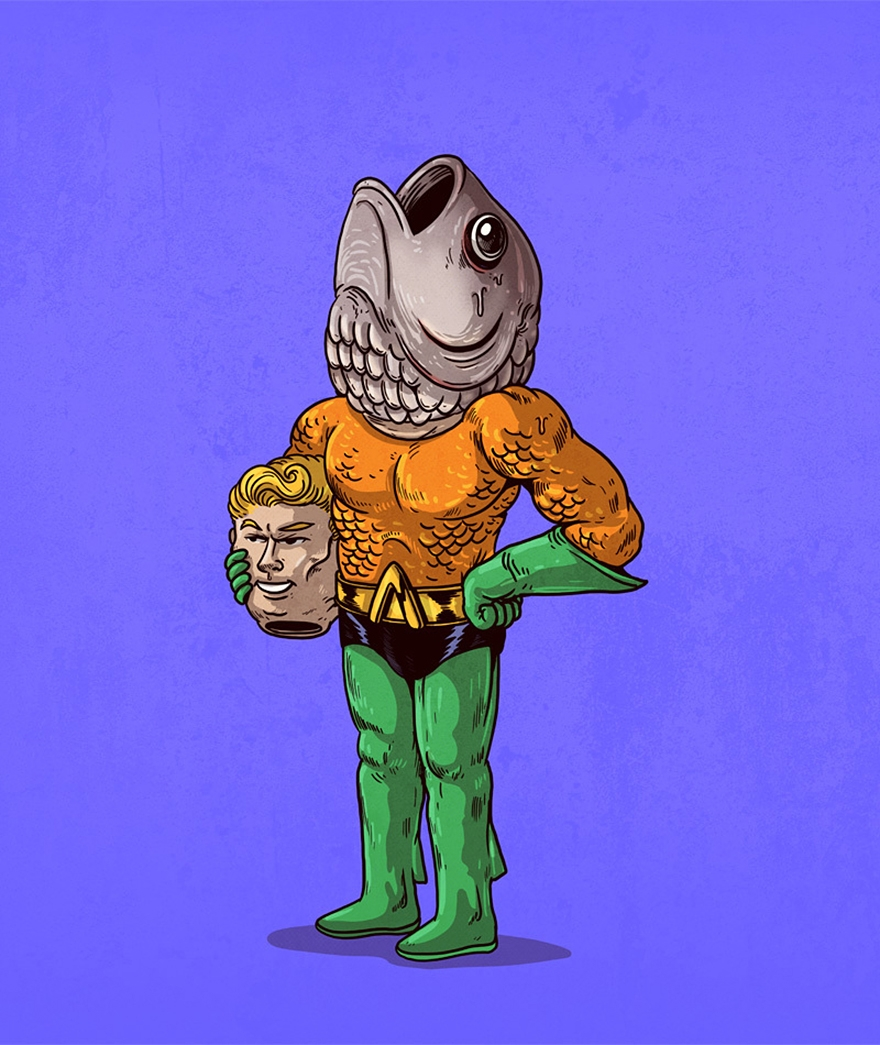 If Famous Characters Had Secret Identities…