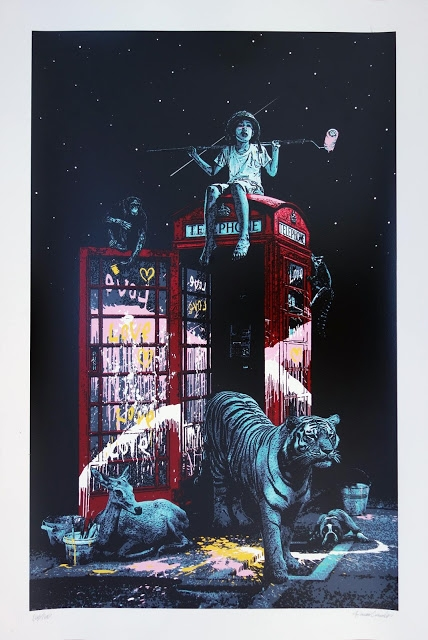 "Roamcouch ""London calling"" Limited Edition Screen"