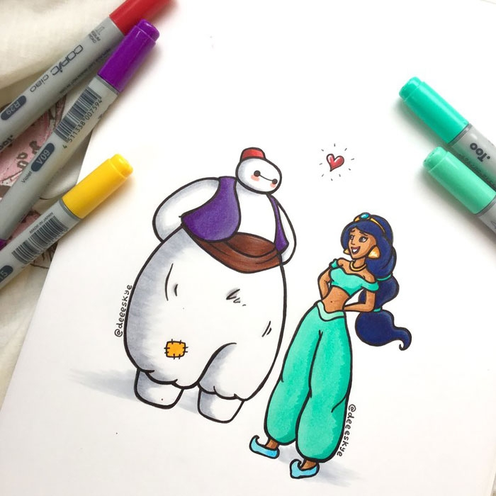 Baymax from Big Hero 6 gets an adorable makeover!