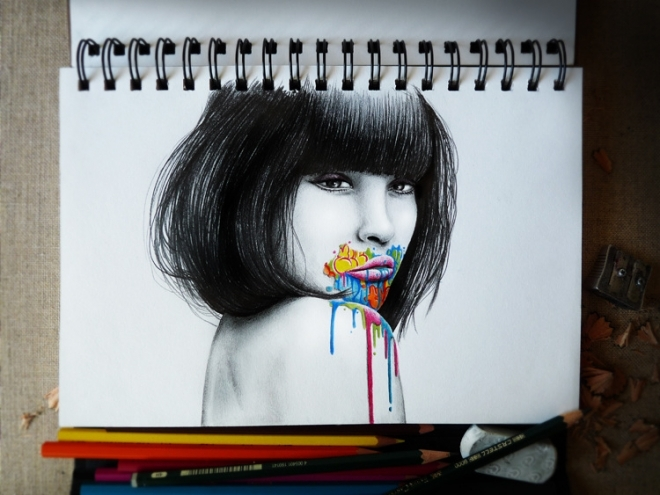 The incredible graphite world of French artist Pez