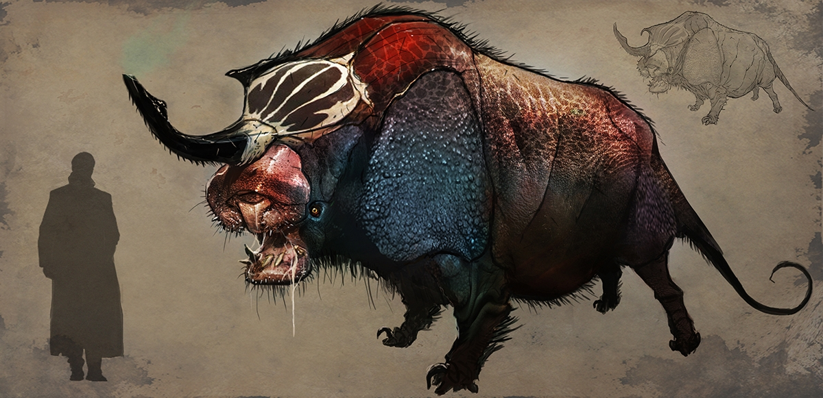 Fantastic Beasts and Where to Find Them Concept Art