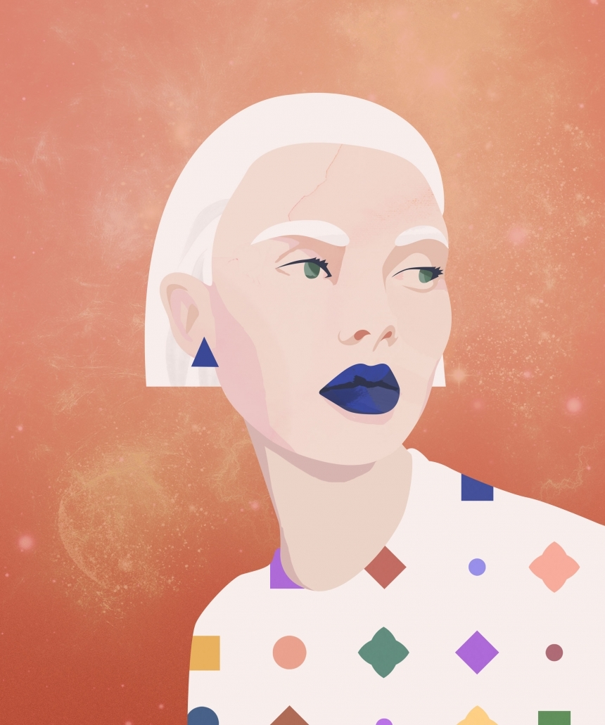Who run the world? Colourful portraits of Girls by Petra Eriksson
