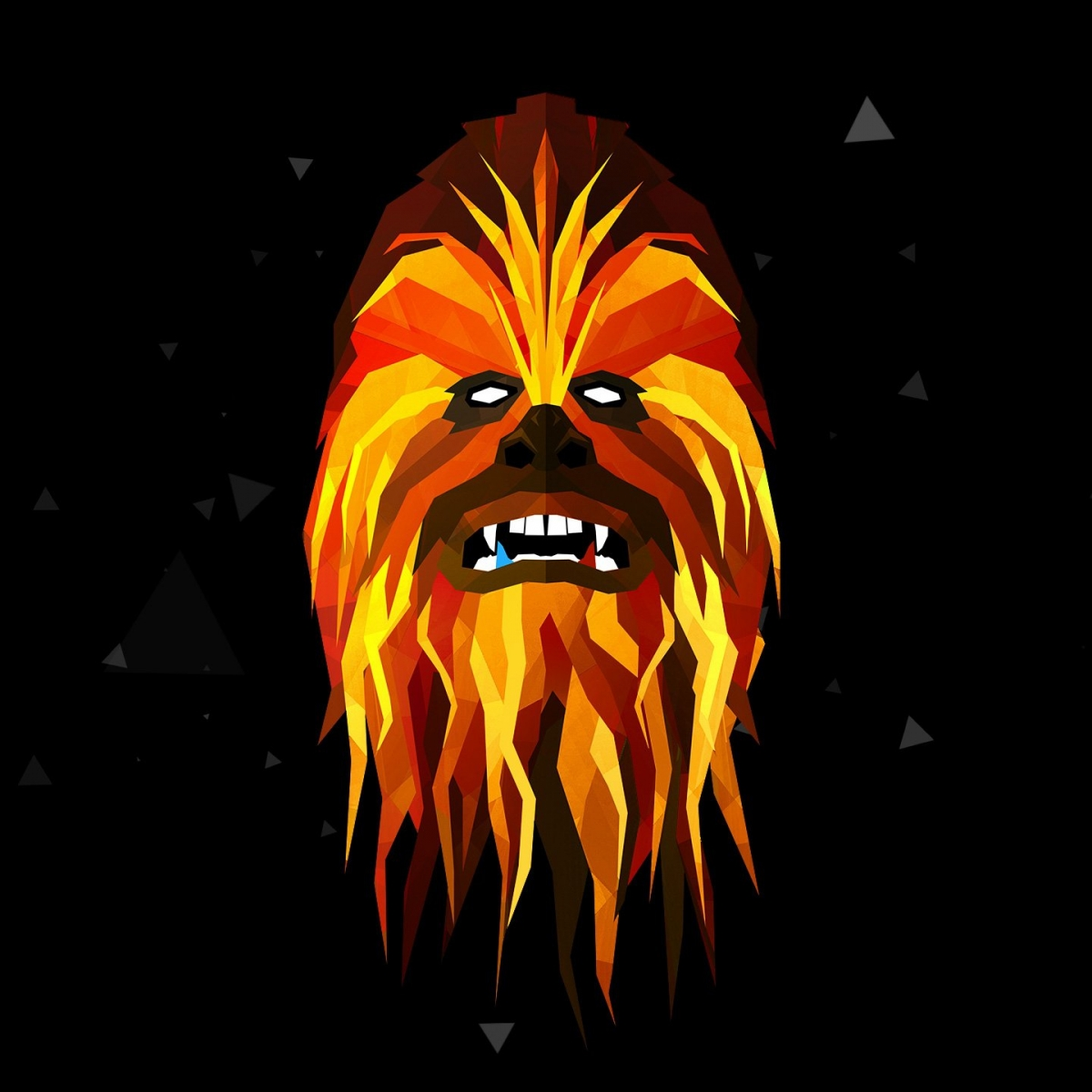 Check Out These Low-Poly Star Wars Characters!