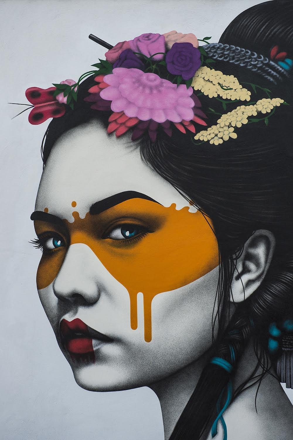 Artist Travels the World to Paint Stunning Graffiti