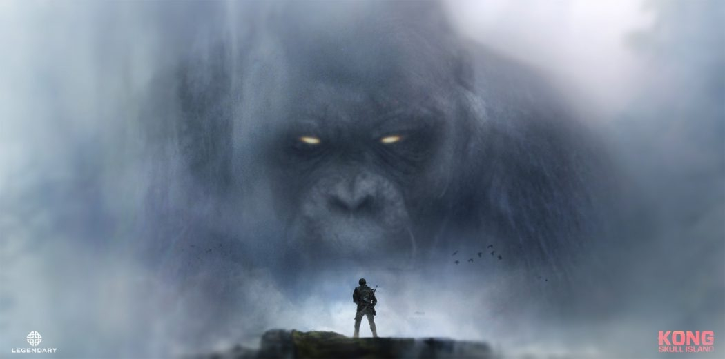 Kong Skull Island Concept Art by Joseph Cross