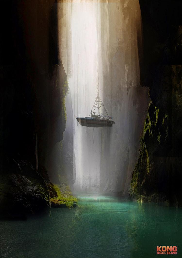 Kong Skull Island Concept Art by Joseph Cross