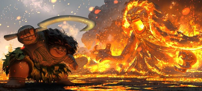 Disney's Moana Concept Art by Ryan Lang
