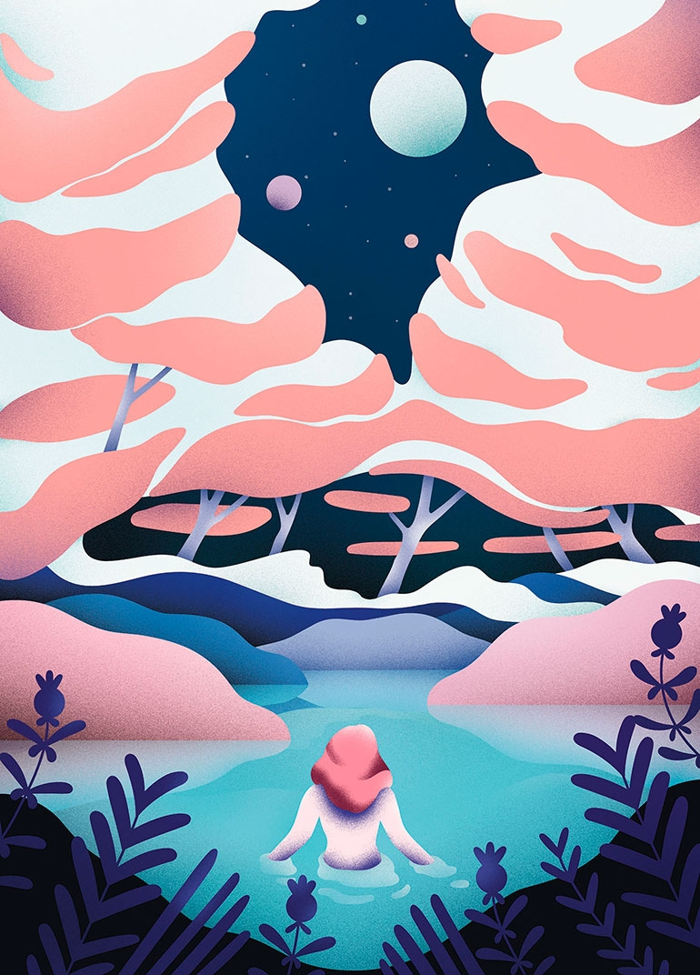 Cosmos Illustrations By Victoria Roussel