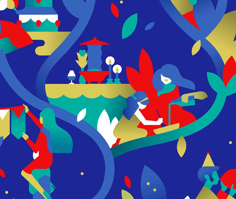 Awesome Geometrical Illustrations you HAVE to see!