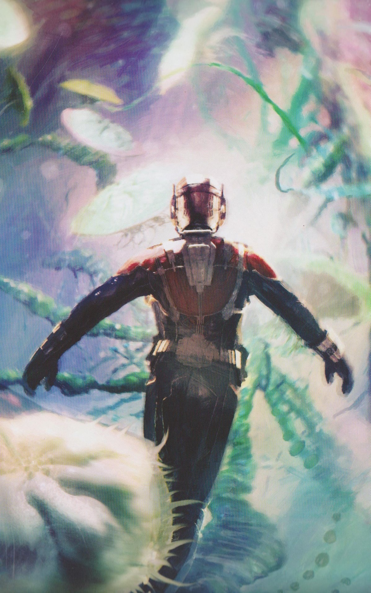 Ant Man and The Wasp Quantum Realm Concept Art