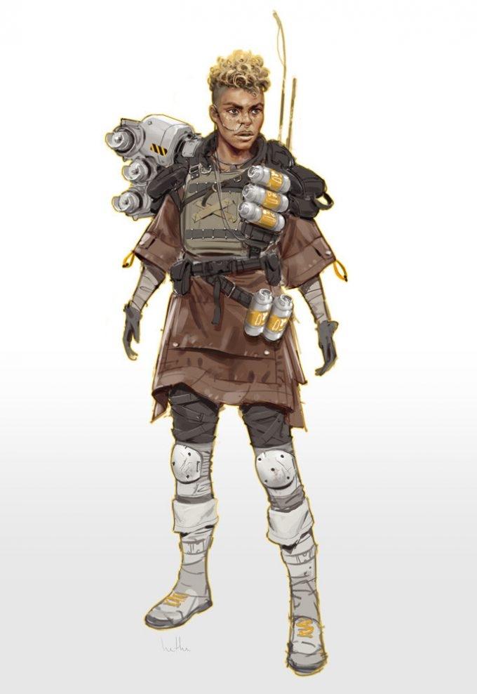 Apex Legends Concept Art by Hethe Srodawa