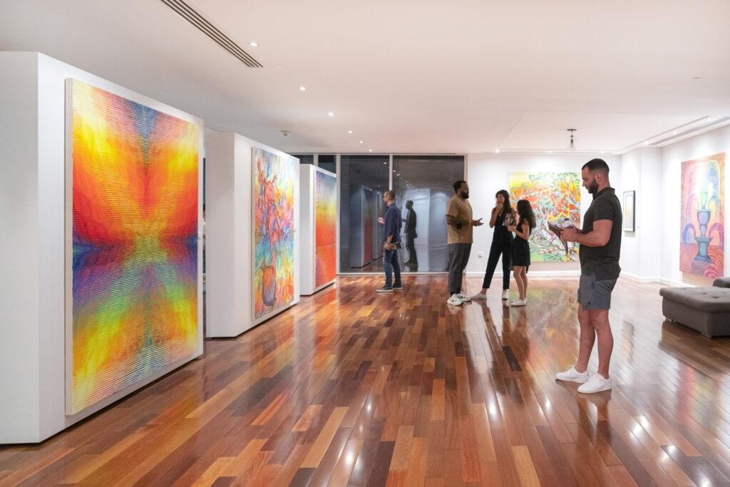 "Coverage: ""Earth Vessel"" Solo Exhibition by Andrew Schoultz at Volery Gallery"