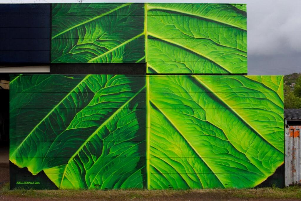 """Plantasia"" by Adele Renault in Liège, Belgium"