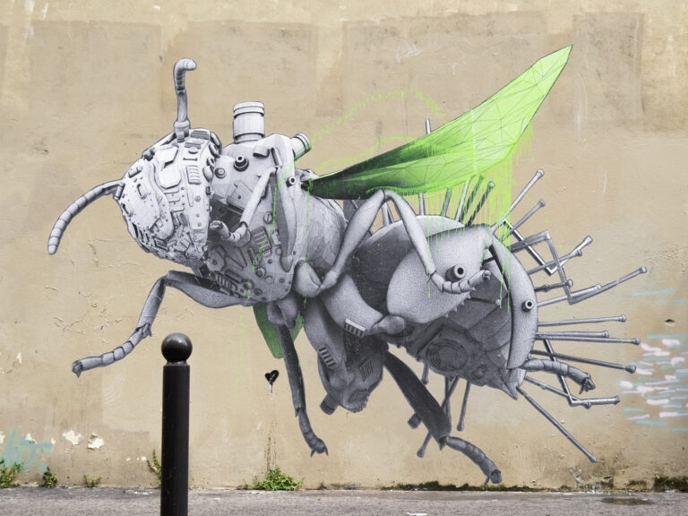 """""""Data Bees"""" by Ludo in Paris, France"""
