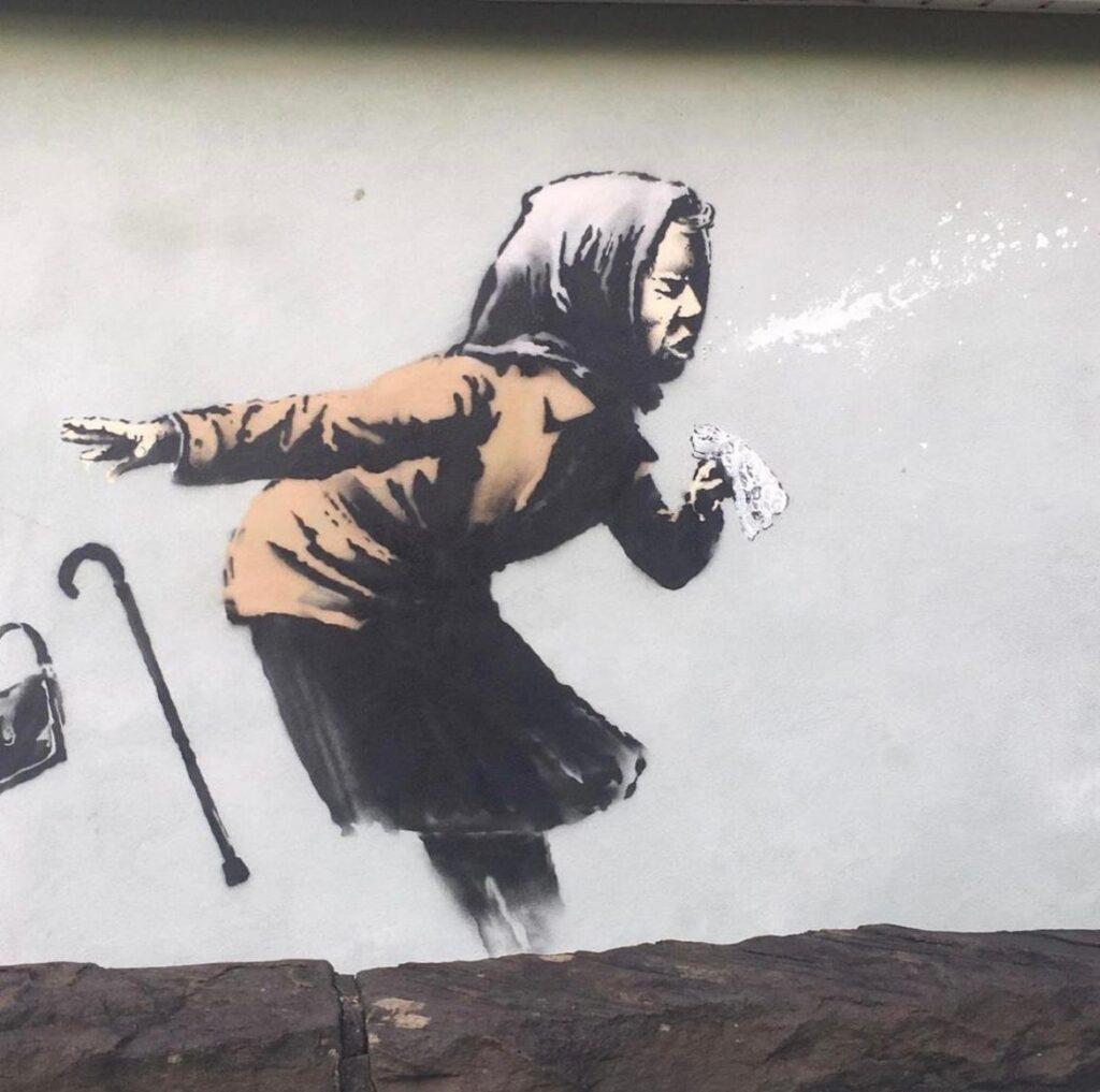 Banksy in Totterdown, Bristol