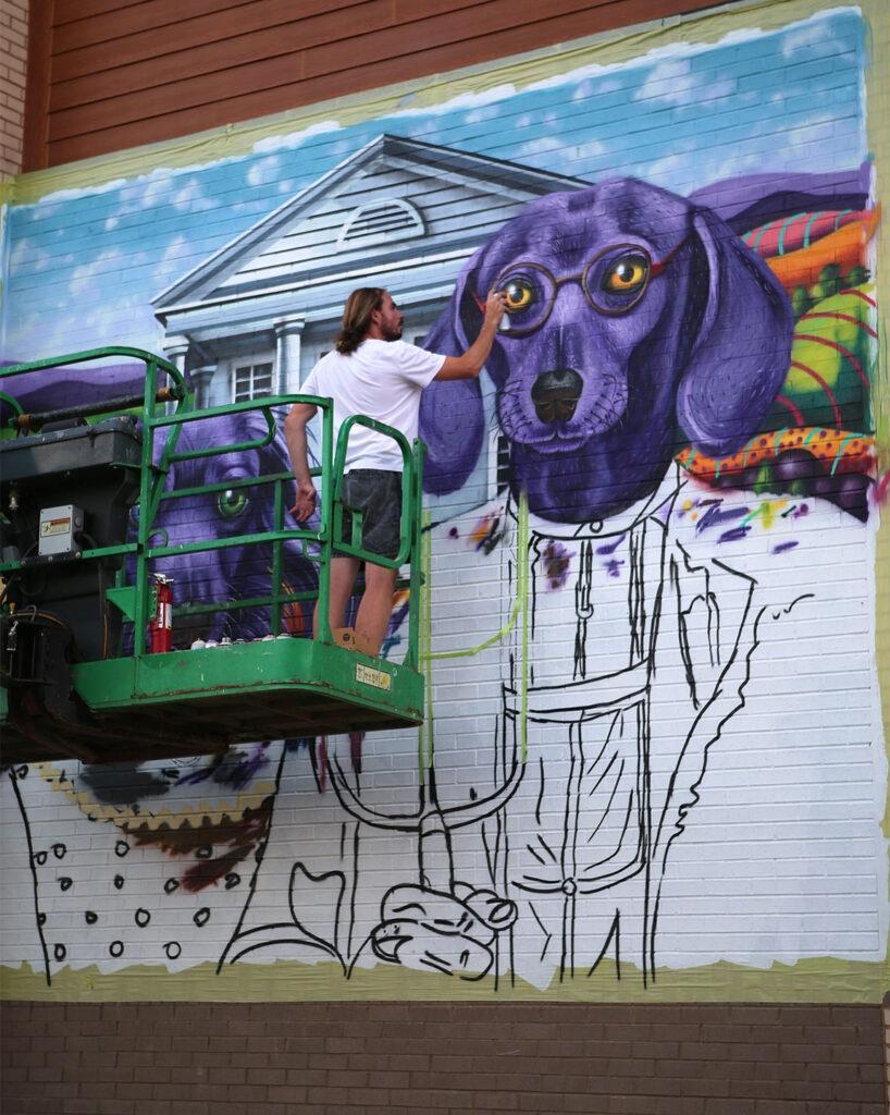 """""""WEENsville"""" by MADSTEEZ in Fairfax, Virginia"""