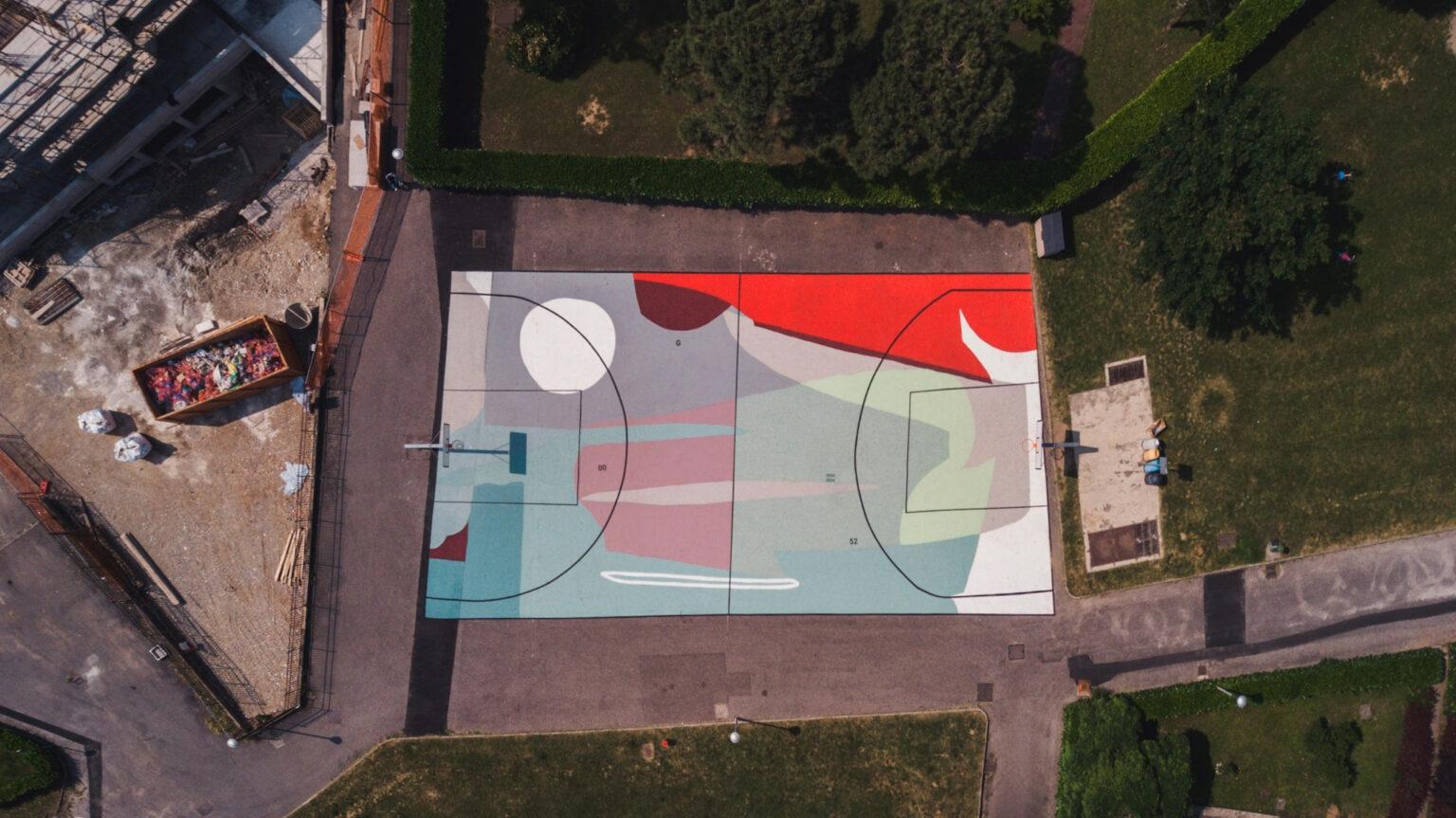 """""""H O R I Z O N"""" by Giulio Vesprini in Treviglio, Italy"""