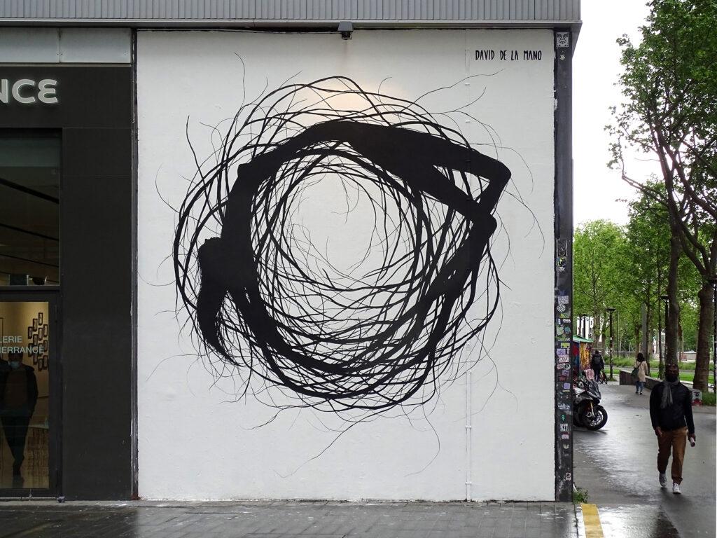 """""""INTEMPERIE"""" by David de la Mano in Paris, France"""
