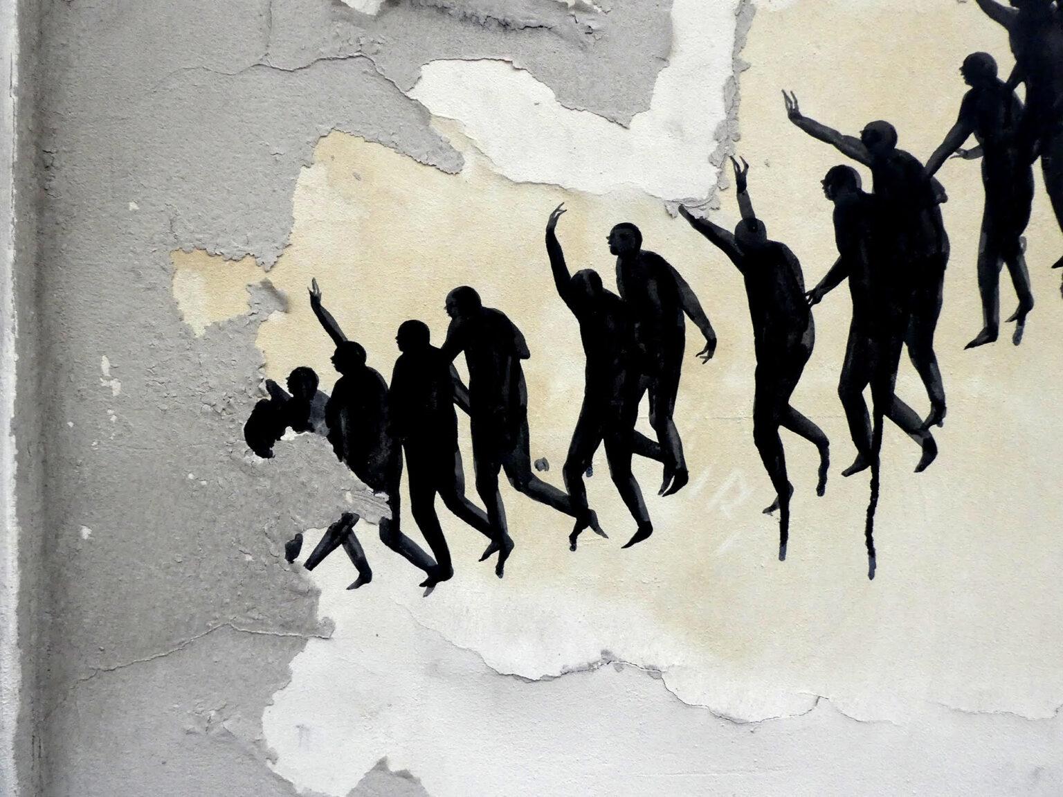 New Murals by David de la Mano in Paris, France