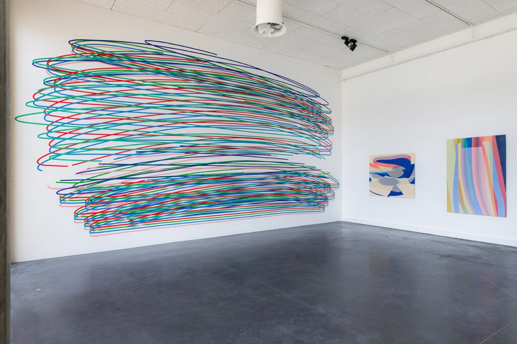 """Coverage: MOMO """"Parting Line"""" Solo Exhibition at Hangar 107, France"""