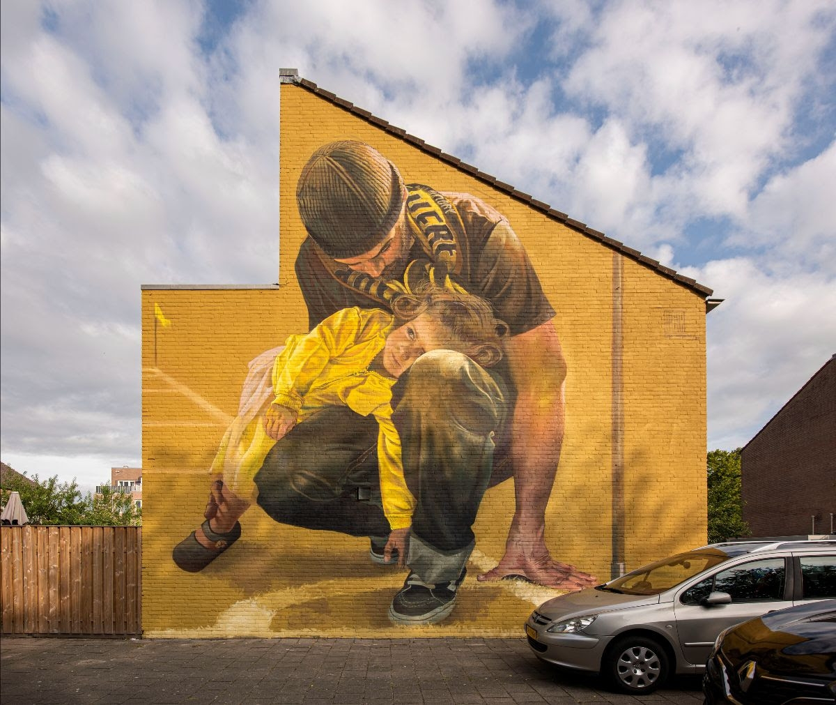 New wall by Case Maclaim in Breda, the Netherlands