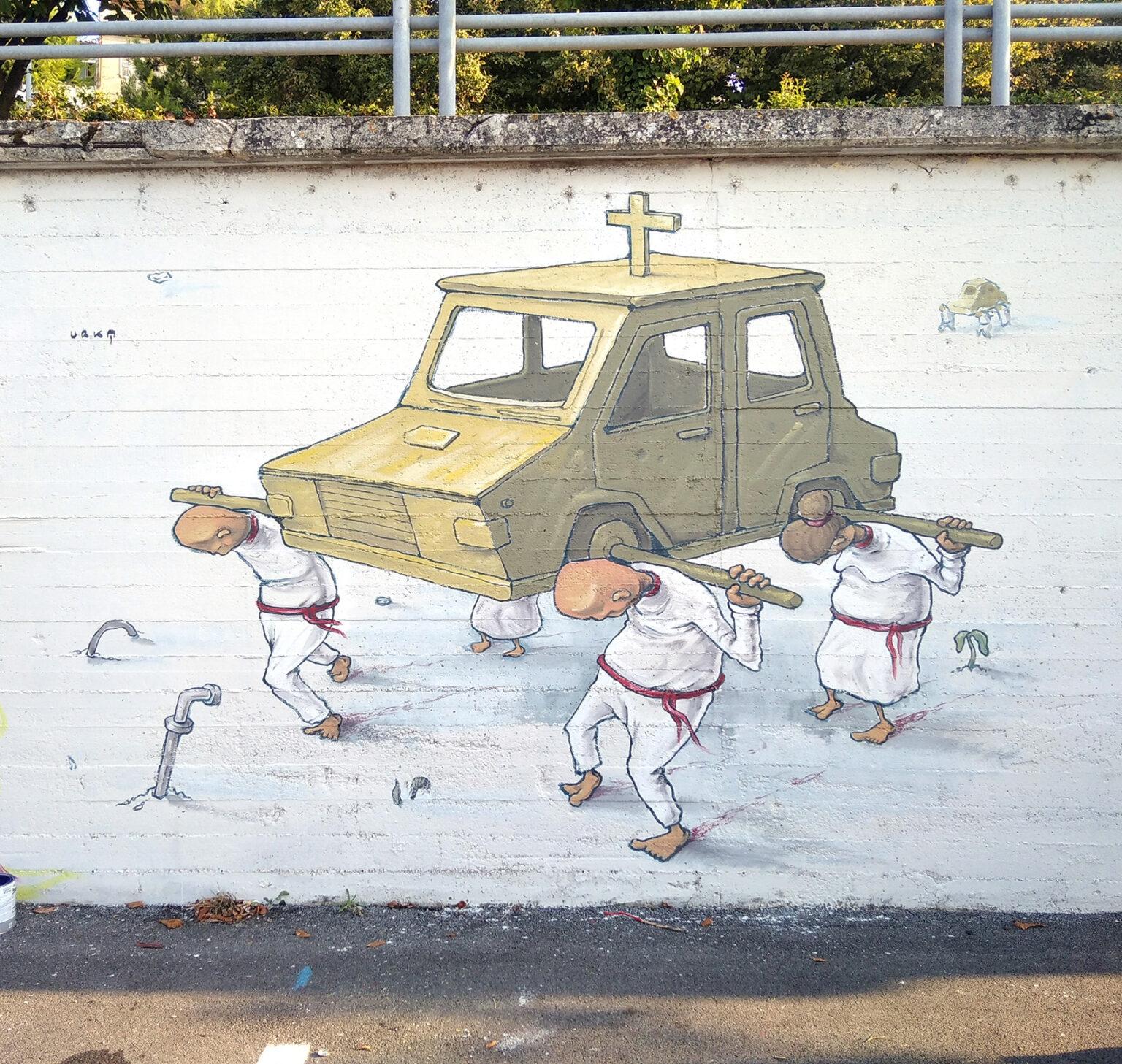 """""""Amen"""" by Urka in Fermo, Italy"""