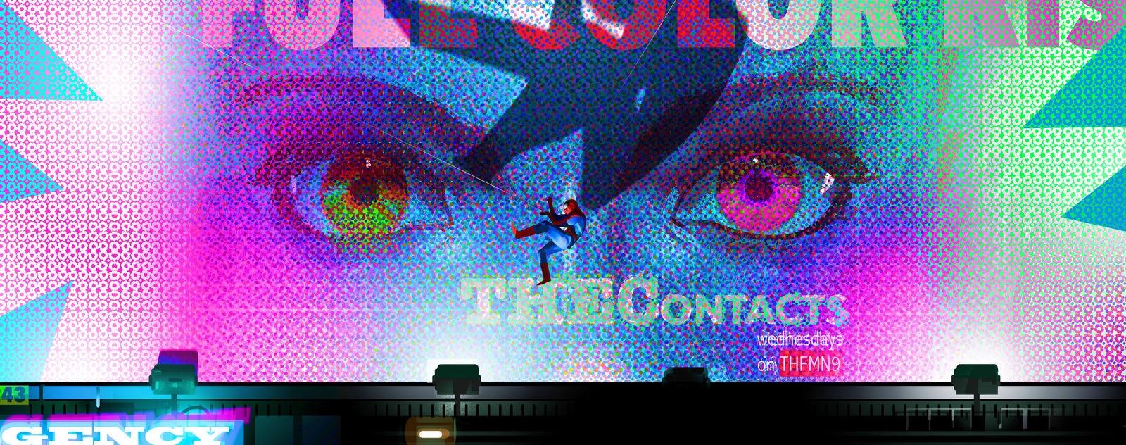 Spider-Man: Into the Spider-Verse Concept Art by Alberto Mielgo
