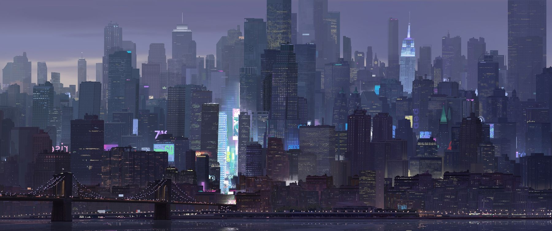 Spider-Man: Into the Spider-Verse Concept Art by Patrick O'Keefe