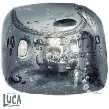Disney Pixar - Luca Artwork